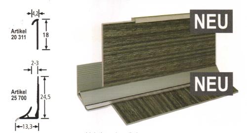bolta stellsockelprofil hartkunststoff f r cv planken. Black Bedroom Furniture Sets. Home Design Ideas