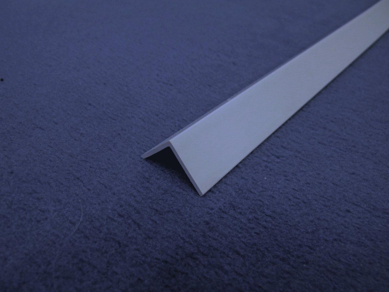 winkelprofil hartkunststoff 20x20mm 2 5m grau. Black Bedroom Furniture Sets. Home Design Ideas