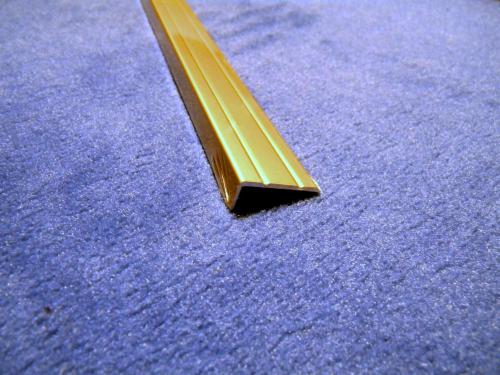 winkelprofil alu selbstklebend 25x8 100cm gold eloxiert. Black Bedroom Furniture Sets. Home Design Ideas