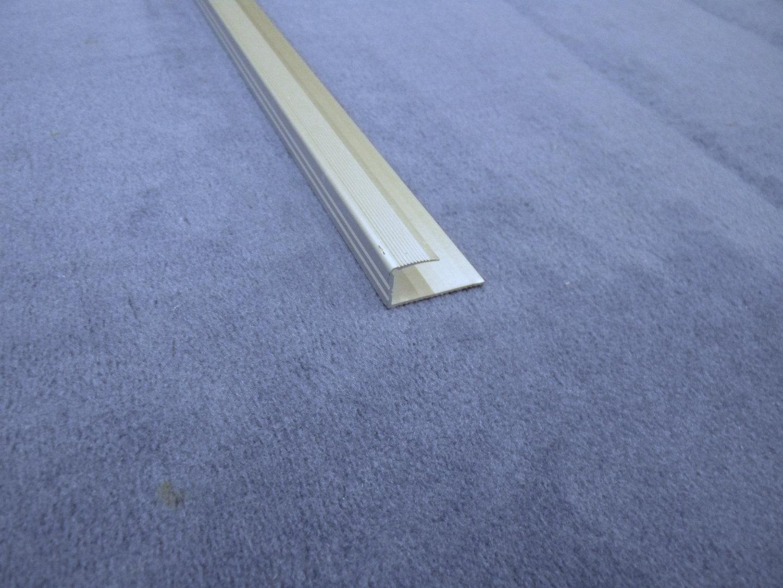 einfassprofil alu 10 12mm 260cm silber eloxiert. Black Bedroom Furniture Sets. Home Design Ideas